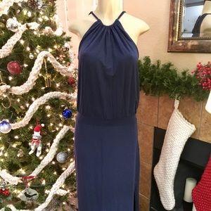 Splendid Navy Maxi Dress - Size L